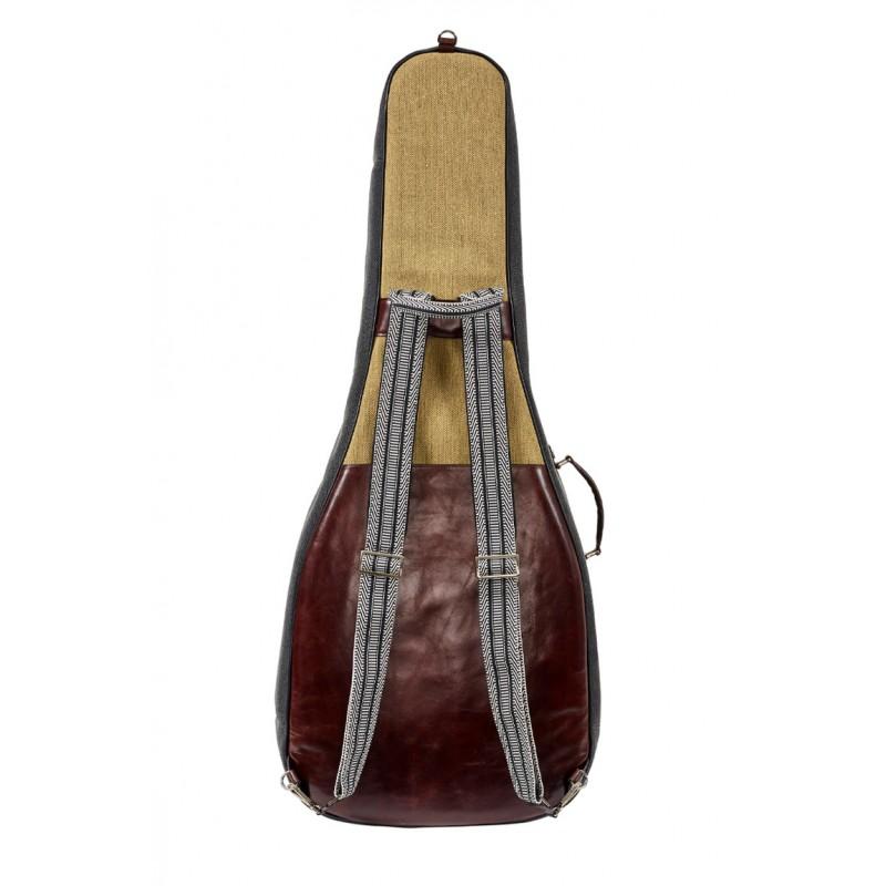 Estuche Guitarra Clásica BAM Nashville NASH8002SCA gris/beige