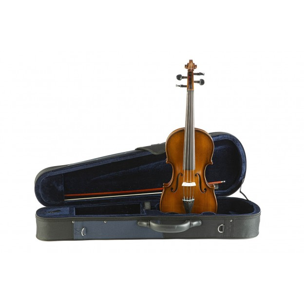 Viola Gliga Genial II con estuche Azul/Negro