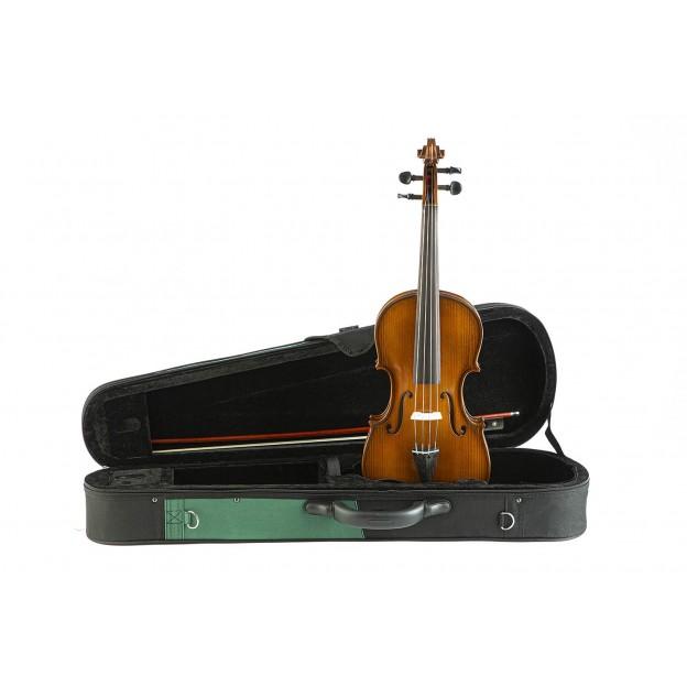 Viola Gliga Genial II con estuche Verde/Negro