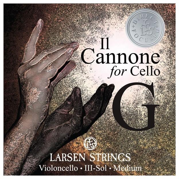 Cuerda Cello Larsen Il Cannone 3ª Sol 4/4 Direct & Focused