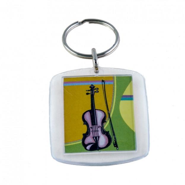 Llavero violín