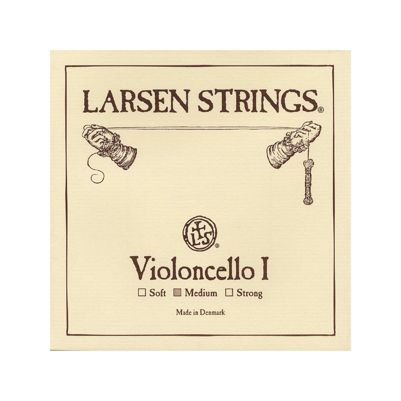 Cuerdas - Cuerda cello Larsen 1ª La Medium