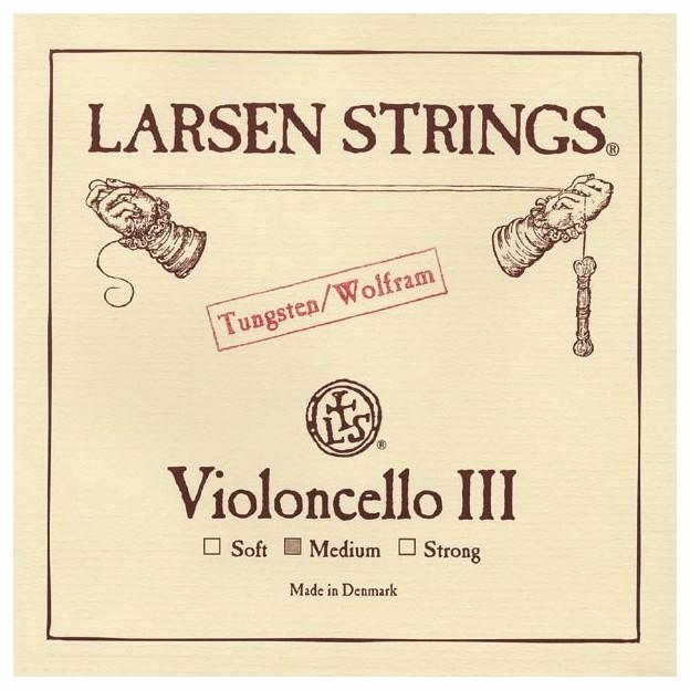 Cuerda cello Larsen 3ª Sol Medium