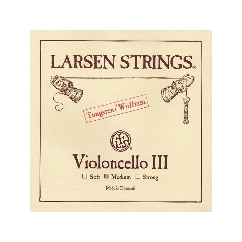 Cuerdas - Cuerda cello Larsen 3ª Sol Medium