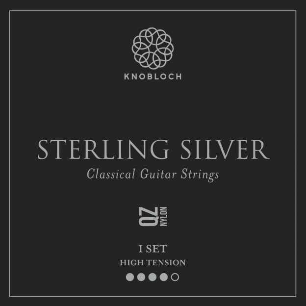 Set de cuerdas guitarra Knobloch Sterling Silver Nylon Q.Z. 500SSQ High