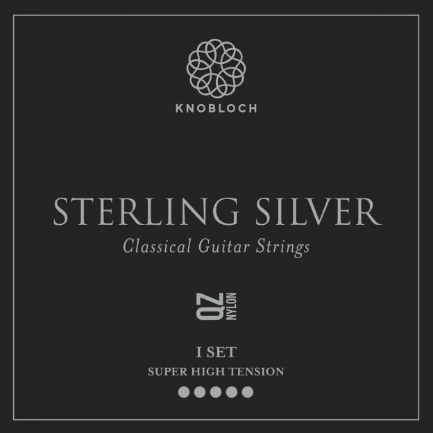 Set de cuerdas guitarra Knobloch Sterling Silver Nylon Q.Z. 600SSQ Super High