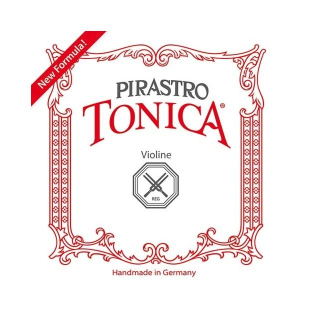 Set de cuerdas violín Pirastro Tonica + Gold 1ª Oro Bola Medium
