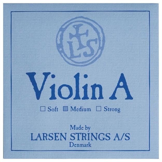 Cuerda violín Larsen 2ª La cromo/acero sobre crema Medium