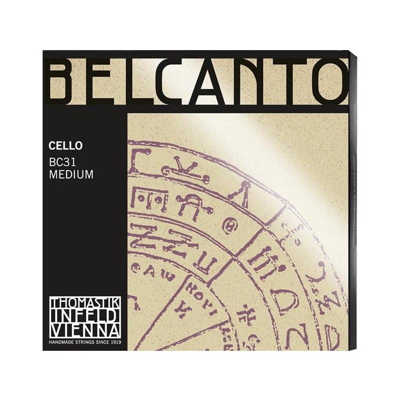 Cuerdas - Cuerda cello Thomastik Belcanto BC31 Medium