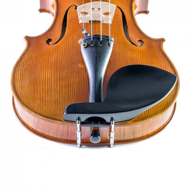 Barbada lateral sobre cordal para viola Guarneri ébano para zurdo