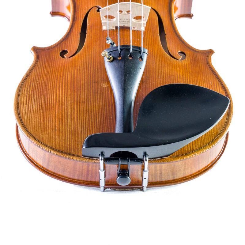Accesorios - Barbada lateral sobre cordal para viola Guarneri ébano para zurdo