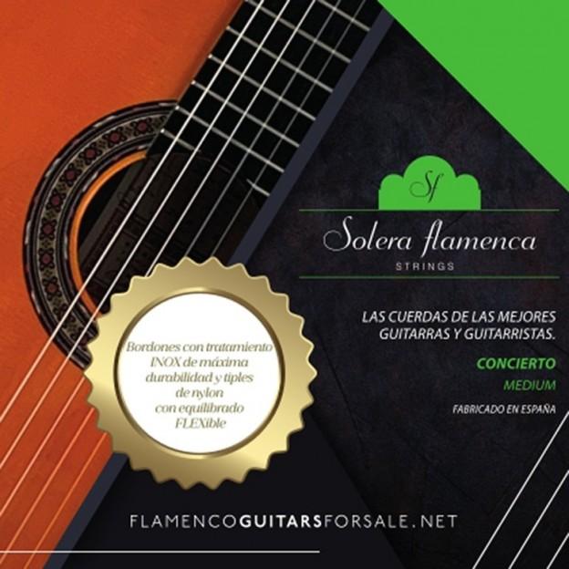 Set de cuerdas guitarra Solera Flamenca Concierto tensión media