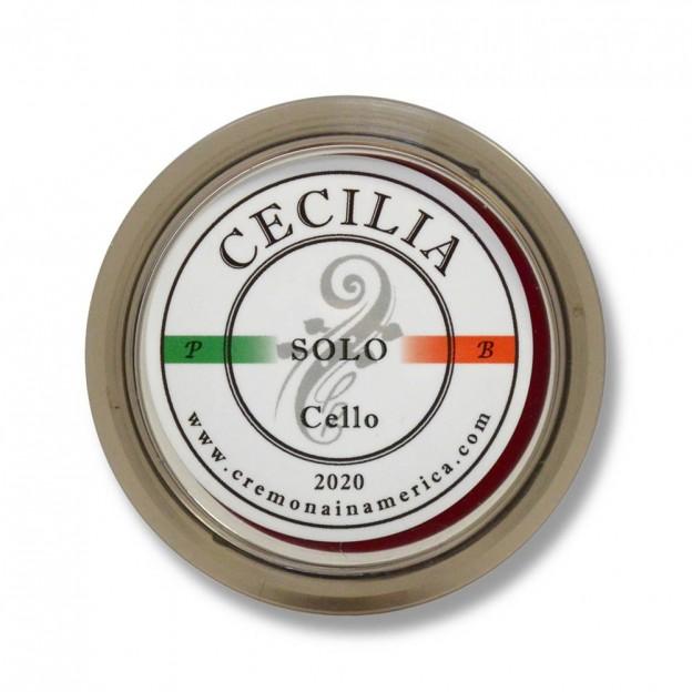 Resina cello Cecilia Rosin Solo pequeña