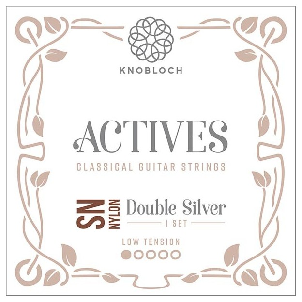 Cuerda guitarra Knobloch Actives Double Silver Special Nylon SN 200ADN Set Low
