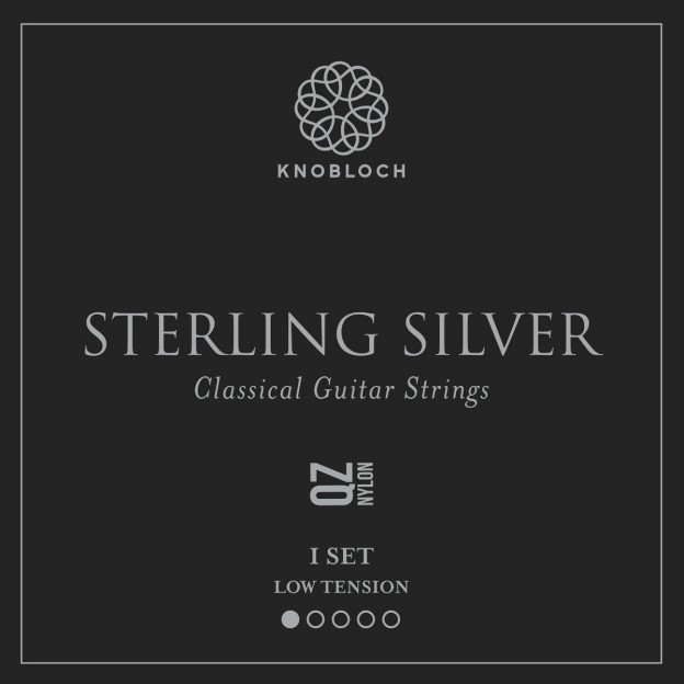 Set de cuerdas guitarra Knobloch Sterling Silver Nylon Q.Z. 200SSQ Low
