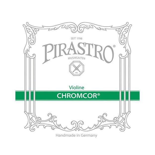 Cuerda violín Pirastro Chromcor 319820 1ª Mi lazo Medium