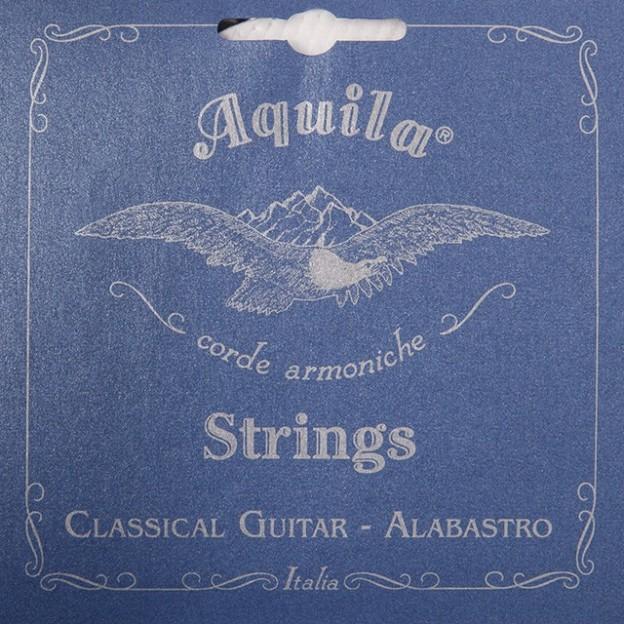 Juego de Cuerdas Guitarra Aquila Alabastro 19C Medium