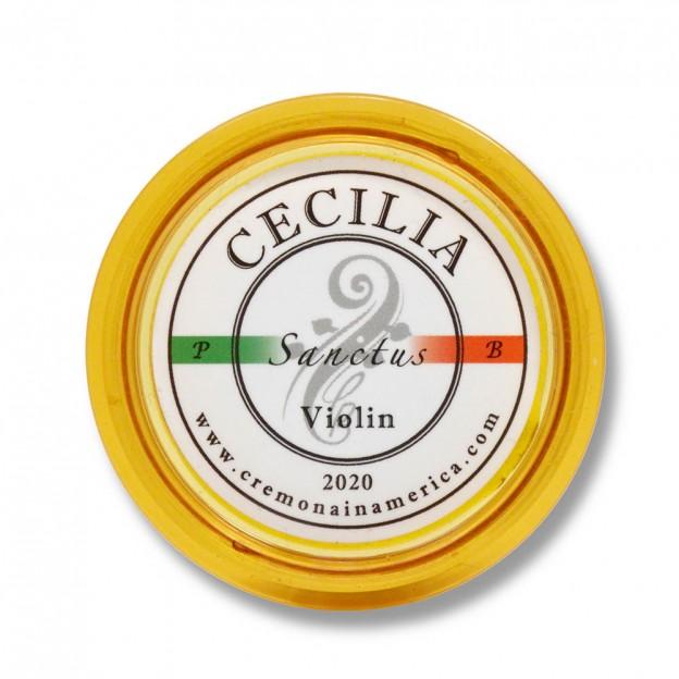 Resina Violín Cecilia Rosin Sanctus 10º Aniversario