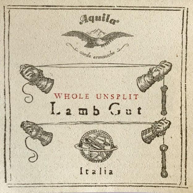 Cuerda  barroca Aquila tripa semirectificada 112HU