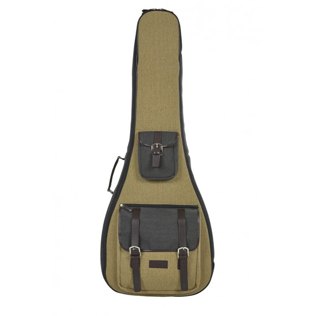 Estuche guitarra eléctrica Bam NASH8100SCA Nashville gris/beige