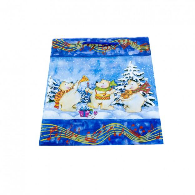 Bolsa grande osos polares Navidad