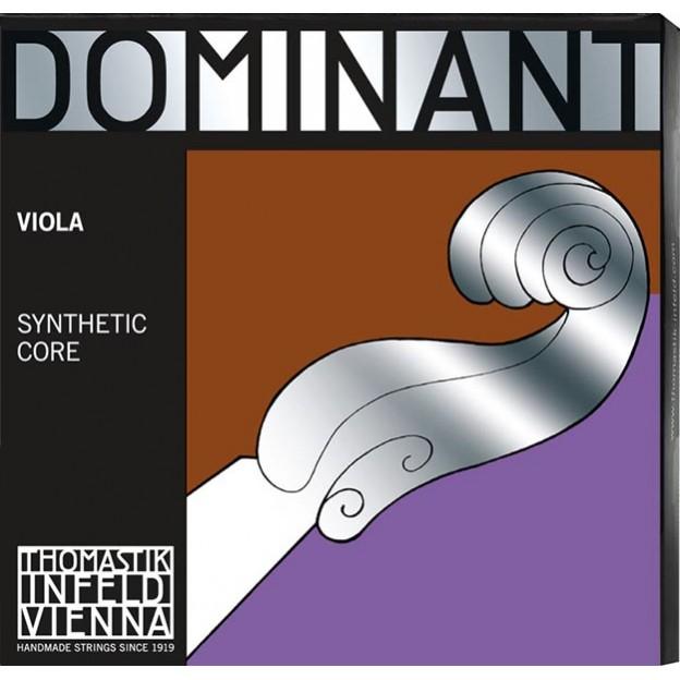 Cuerda viola Thomastik Dominant 137A 4/4 2ª Re plata